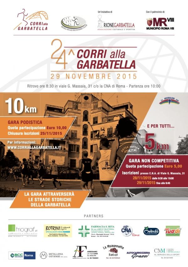 30 NOVEMBRE 2014 LA GARA PODISTICA  PIU BELLA DI ROMA CAPITALE