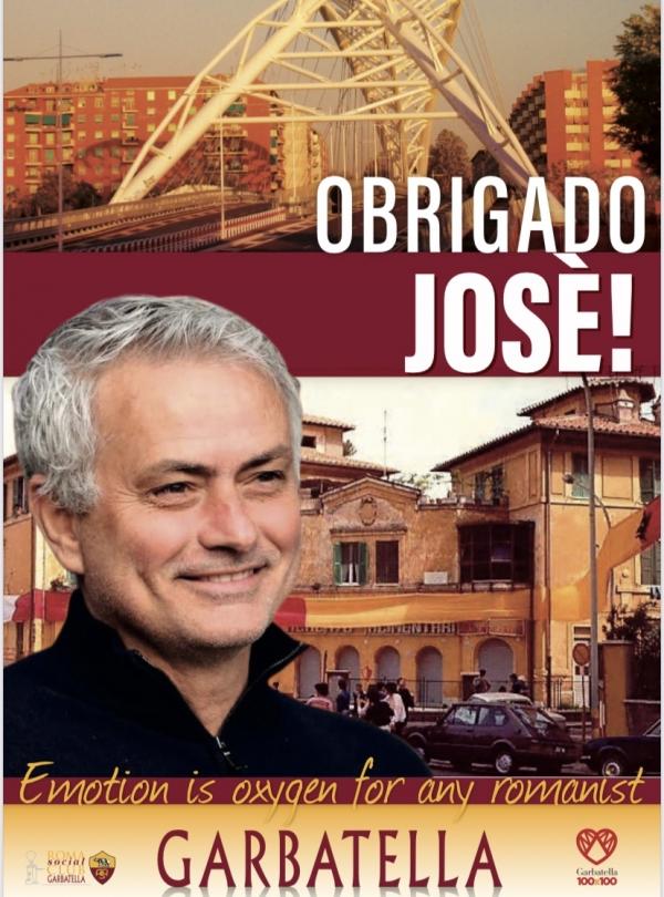 BENVENUTO MOURINHO - OBRIGADO JOSE'