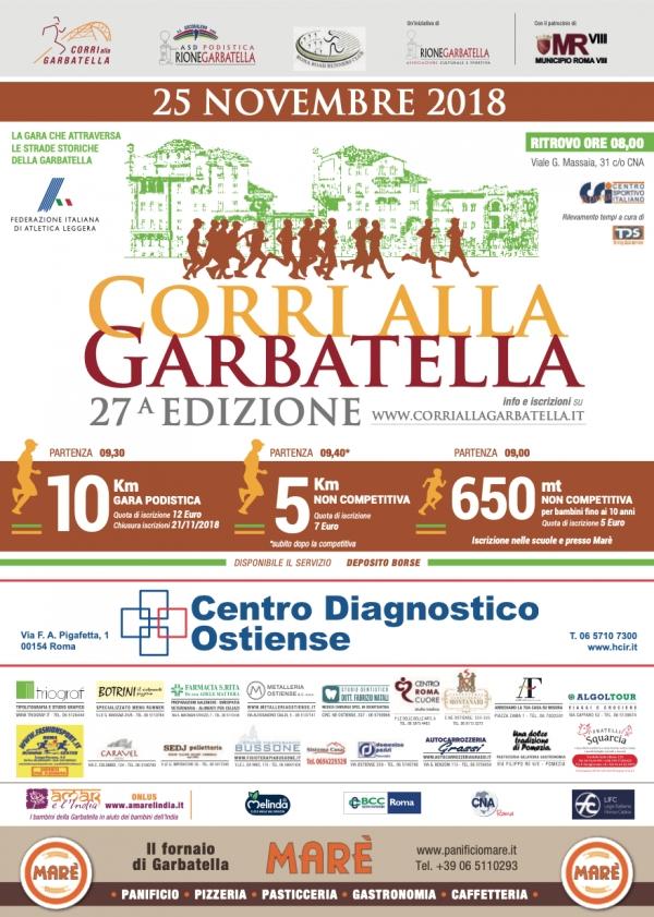 27^Corri Alla Garbatella 2018