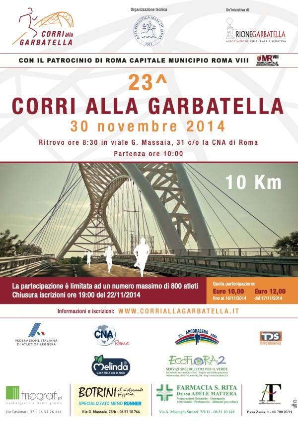 FOTOGALLERY 23^CORRI ALLA GARBATELLA 2014